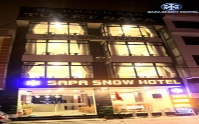 Sapa Snow Hotel вид на фасад
