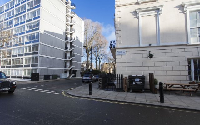 Отель Hyde Park Atmosphere Лондон вид на фасад