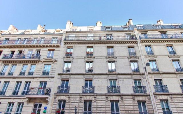 Апартаменты Charming parisian Apartment - Monge вид на фасад