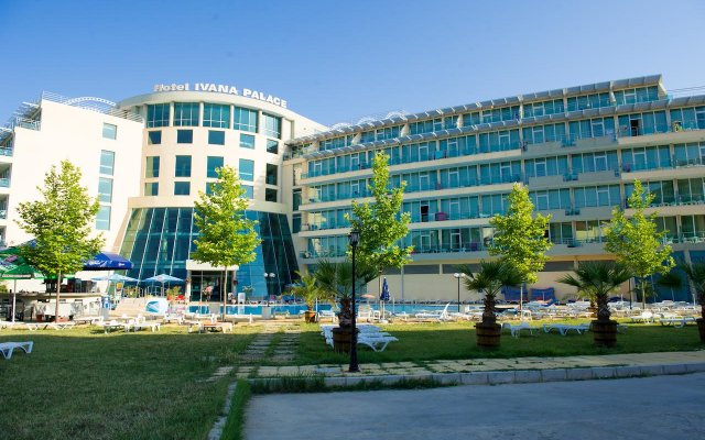 Отель Ivana Palace Солнечный берег вид на фасад