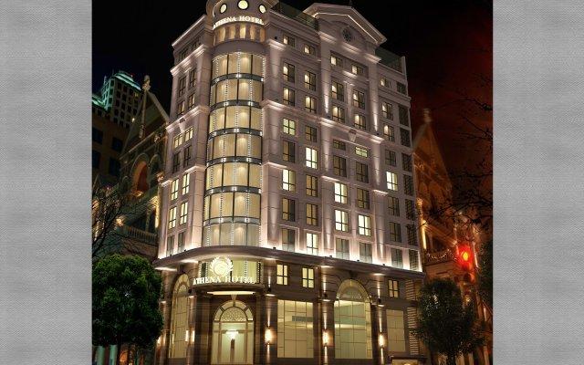 Отель Athena Boutique Hotel Вьетнам, Хошимин - отзывы, цены и фото номеров - забронировать отель Athena Boutique Hotel онлайн вид на фасад
