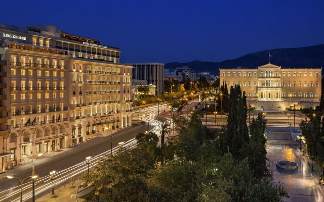 King George, a Luxury Collection Hotel, Athens вид на фасад