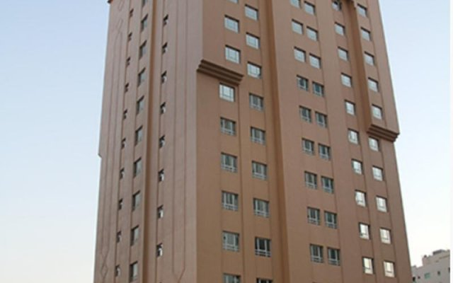 Отель Basma Residence Hotel Apartments ОАЭ, Шарджа - отзывы, цены и фото номеров - забронировать отель Basma Residence Hotel Apartments онлайн вид на фасад