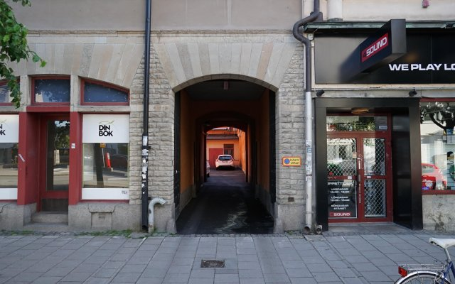 Отель Hotell Hjalmar Швеция, Эребру - 1 отзыв об отеле, цены и фото номеров - забронировать отель Hotell Hjalmar онлайн вид на фасад