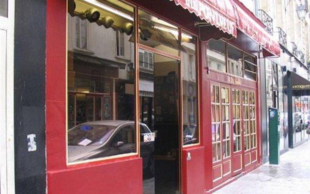 Hotel Du Pont Neuf Париж вид на фасад
