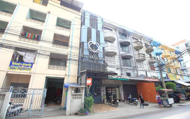 Guyasuka Hostel&Cafe вид на фасад