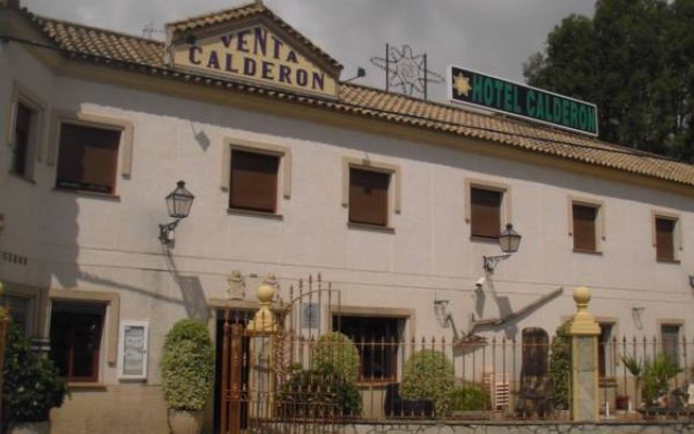 Hotel Restaurante Calderon вид на фасад