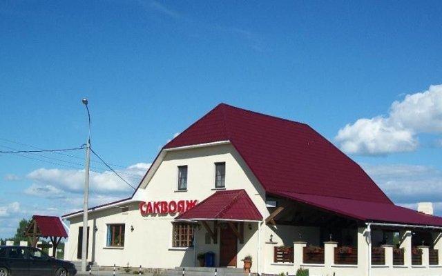 Отель Мотель Саквояж Ростов Великий вид на фасад