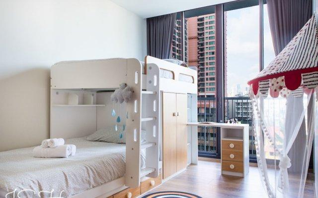 Отель City Park Luxury Home Бангкок комната для гостей