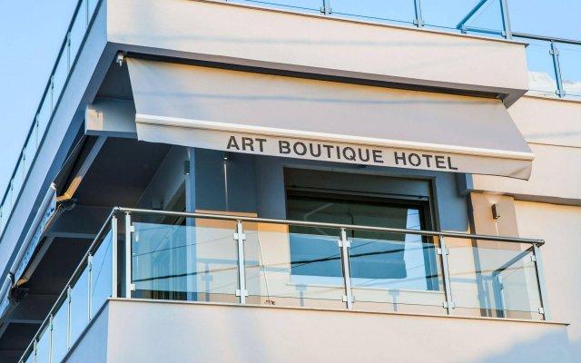 Отель Art Boutique Hotel Греция, Пефкохори - 1 отзыв об отеле, цены и фото номеров - забронировать отель Art Boutique Hotel онлайн вид на фасад