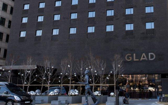 GLAD Hotel Yeouido вид на фасад