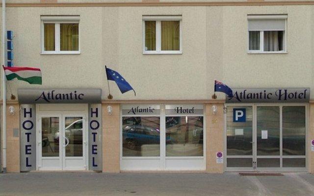 Отель Atlantic Hotel Венгрия, Будапешт - - забронировать отель Atlantic Hotel, цены и фото номеров вид на фасад