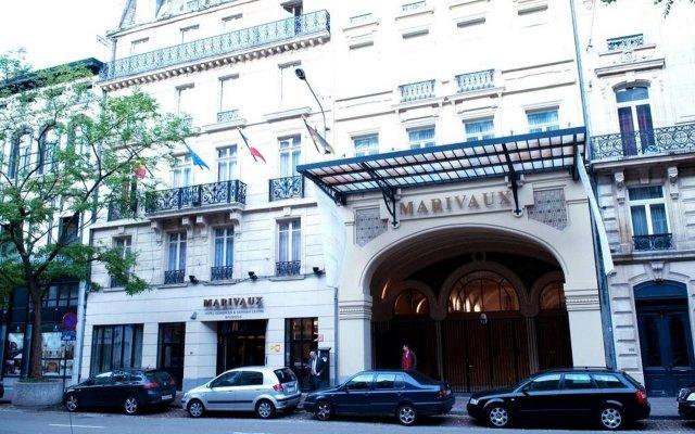 Отель Marivaux Hotel Бельгия, Брюссель - 6 отзывов об отеле, цены и фото номеров - забронировать отель Marivaux Hotel онлайн вид на фасад