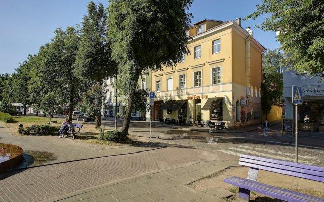 Отель German 18 - Luxury Vilnius Apartment Литва, Вильнюс - отзывы, цены и фото номеров - забронировать отель German 18 - Luxury Vilnius Apartment онлайн вид на фасад