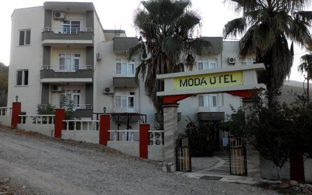 Отель Modamotel вид на фасад