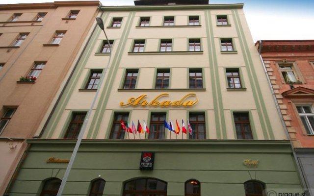 Arkada Hotel Praha Прага вид на фасад