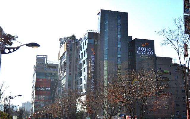 Отель Cacao Южная Корея, Инчхон - отзывы, цены и фото номеров - забронировать отель Cacao онлайн вид на фасад