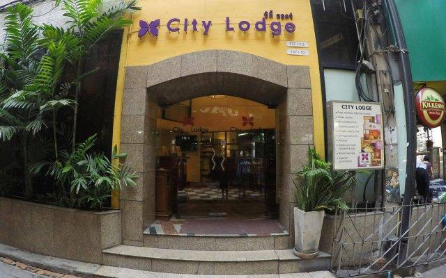 Отель City Lodge Soi 9 Бангкок вид на фасад