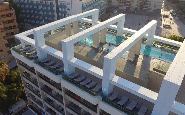 Отель Olympus Palace Испания, Салоу - 4 отзыва об отеле, цены и фото номеров - забронировать отель Olympus Palace онлайн вид на фасад