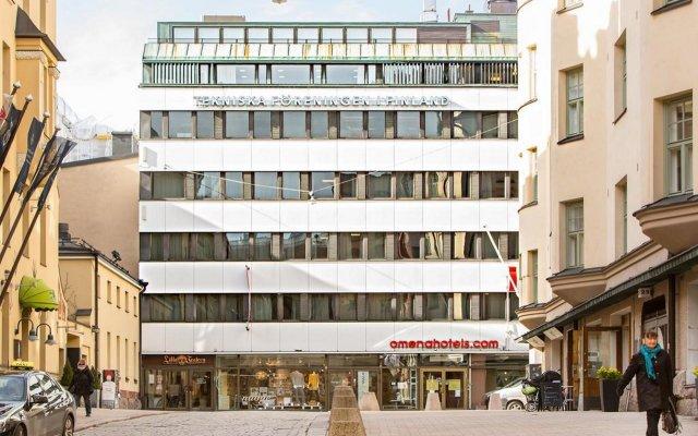 Отель Omena Hotel Yrjonkatu Финляндия, Хельсинки - 9 отзывов об отеле, цены и фото номеров - забронировать отель Omena Hotel Yrjonkatu онлайн вид на фасад