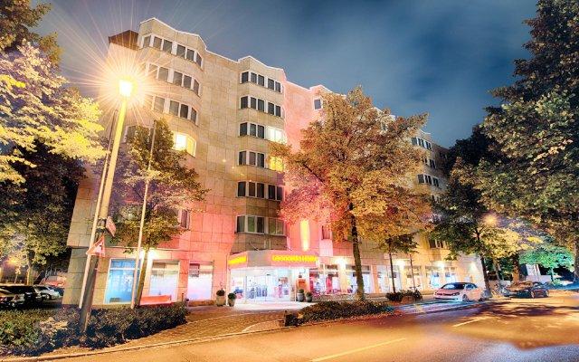 Отель Leonardo Hotel Düsseldorf City Center Германия, Дюссельдорф - отзывы, цены и фото номеров - забронировать отель Leonardo Hotel Düsseldorf City Center онлайн вид на фасад