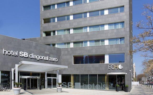 Отель SB Diagonal Zero Barcelona Испания, Барселона - 1 отзыв об отеле, цены и фото номеров - забронировать отель SB Diagonal Zero Barcelona онлайн вид на фасад