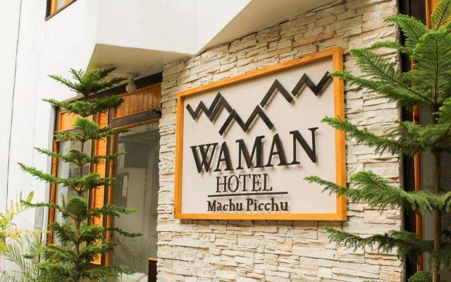 Hotel Waman вид на фасад