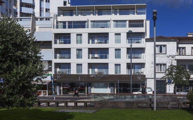 Hotel Apartamentos Gaivota Понта-Делгада вид на фасад