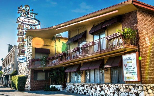 Отель Hollywood Downtowner США, Лос-Анджелес - отзывы, цены и фото номеров - забронировать отель Hollywood Downtowner онлайн вид на фасад