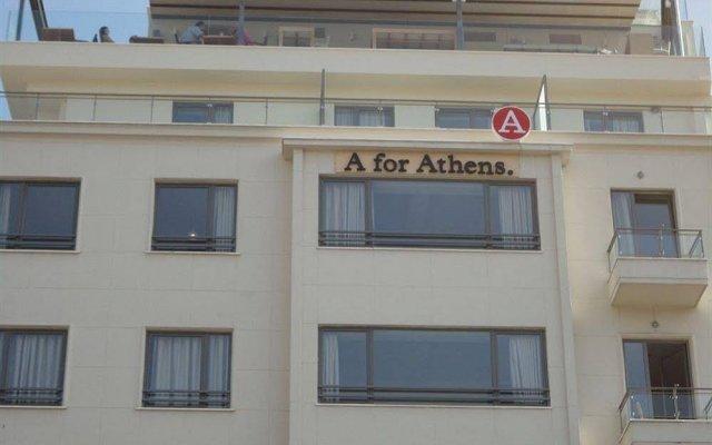 Отель A for Athens Греция, Афины - отзывы, цены и фото номеров - забронировать отель A for Athens онлайн вид на фасад