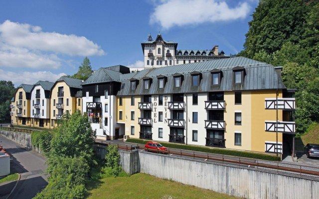 Spa Hotel Devin вид на фасад