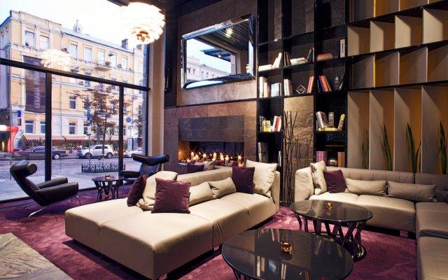Дизайн-отель 11 Mirrors Киев интерьер отеля