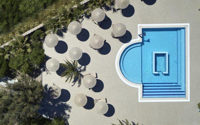 Отель 9 Muses Santorini Resort вид на фасад