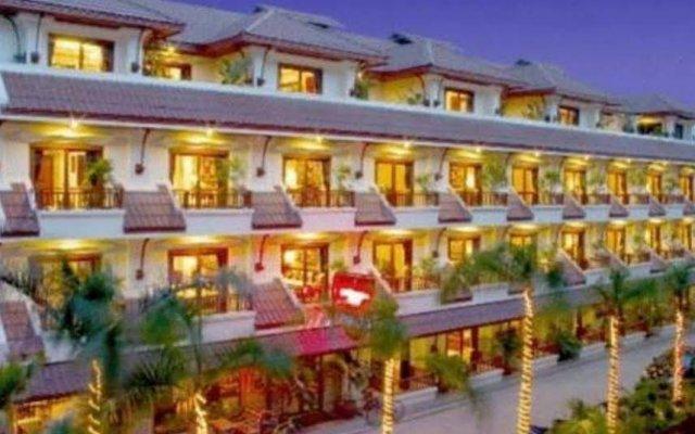 Отель Nirvana Boutique Suites Паттайя вид на фасад