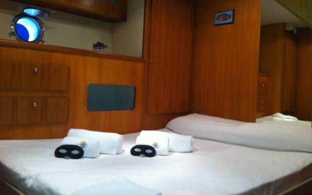 Отель Yacht Sarah Venezia комната для гостей