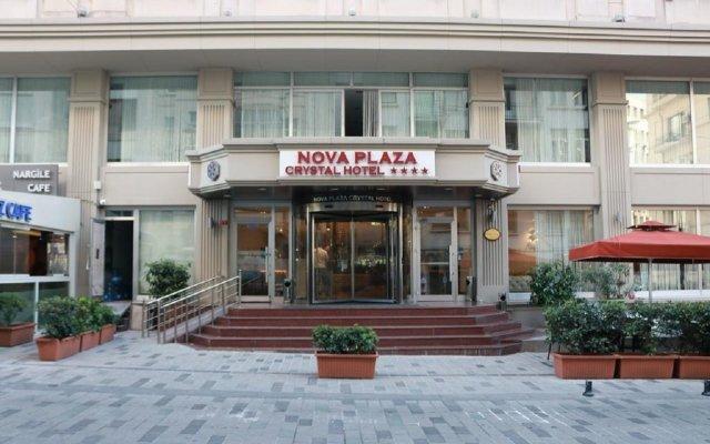Отель Nova Plaza Crystal вид на фасад