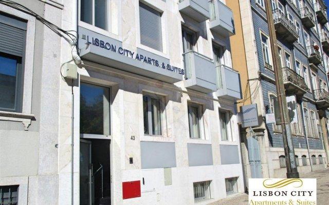 Отель Lisbon City Apartments & Suites Португалия, Лиссабон - отзывы, цены и фото номеров - забронировать отель Lisbon City Apartments & Suites онлайн вид на фасад