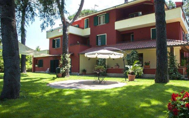 Hotel Villa Maria Luigia вид на фасад