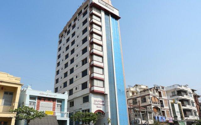 Royal Power Hotel вид на фасад