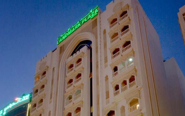 Отель Landmark Plaza Baniyas вид на фасад