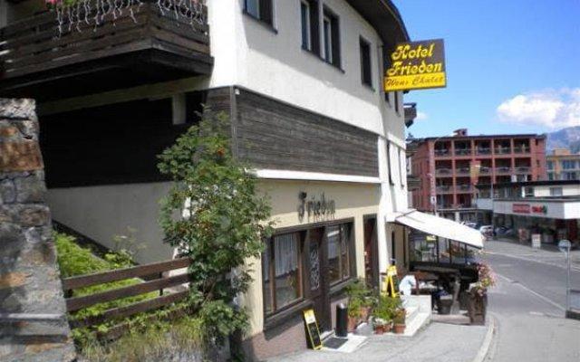 Отель Frieden Швейцария, Давос - отзывы, цены и фото номеров - забронировать отель Frieden онлайн вид на фасад