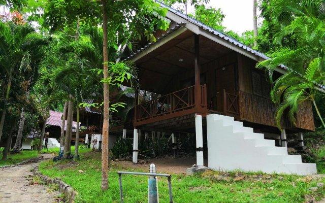 Отель Seashell Coconut Village Koh Tao вид на фасад