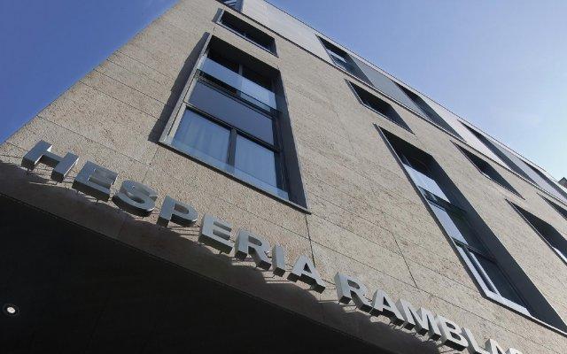 Отель Hesperia Ramblas Испания, Барселона - отзывы, цены и фото номеров - забронировать отель Hesperia Ramblas онлайн вид на фасад