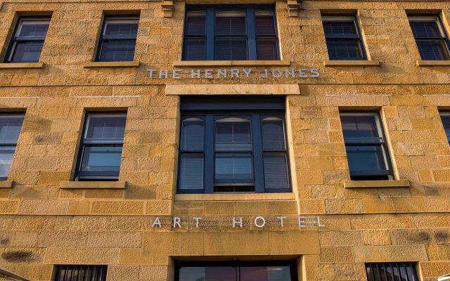 Отель Henry Jones Art Boutique Тасмания вид на фасад