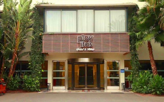 Отель Playitas Hotel Испания, Антигуа - 1 отзыв об отеле, цены и фото номеров - забронировать отель Playitas Hotel онлайн вид на фасад