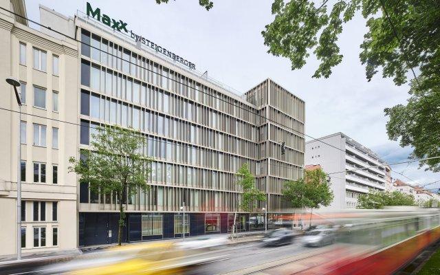 MAXX by Steigenberger Hotel Vienna вид на фасад