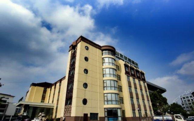 CYTS Shanshui Garden Hotel Suzhou вид на фасад