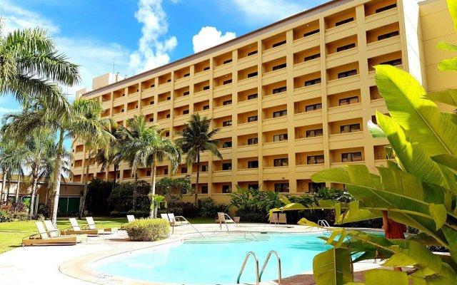 Отель Guam Plaza Resort & Spa Гуам, Тамунинг - отзывы, цены и фото номеров - забронировать отель Guam Plaza Resort & Spa онлайн вид на фасад