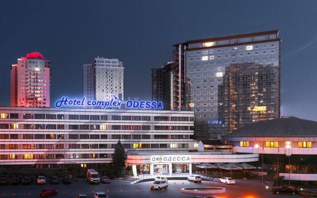 ОК Одесса Отель вид на фасад