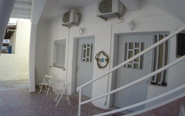 Отель Magma Rooms Греция, Остров Санторини - отзывы, цены и фото номеров - забронировать отель Magma Rooms онлайн вид на фасад